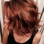 Kızıl kahve saç renkleri