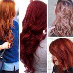 Kızıl kahve saç markaları ve numaraları